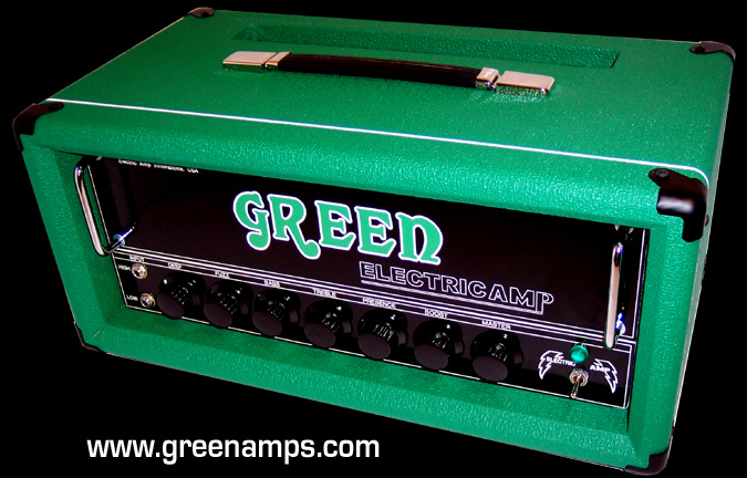 GREEN Amp GREEN ELECTRICAMP Trademark Tube Amps and Speaker
