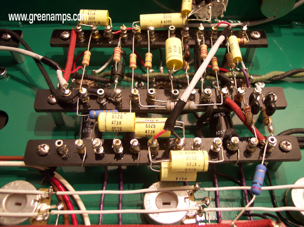 Speaker Wire Gauge >> GREEN Military Grade Hardwire Point to Point Tube Amps by ELECTRIC AMP, USA
