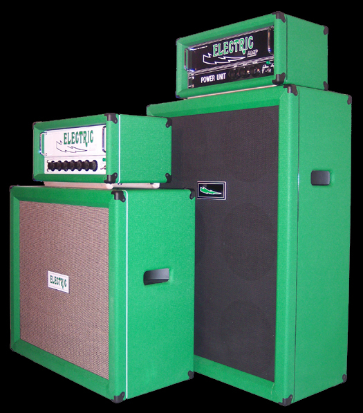 GREEN Electricamp - Guitar and Bass Amps and Speaker Cabinets